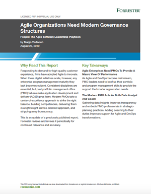 Agile Organizations Need Modern Governance Structures_Forrester