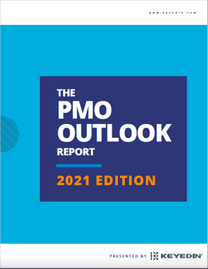 The 2021 PMO Outlook Report Thumbnail