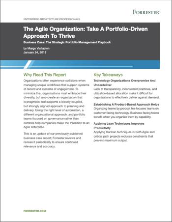 The Agile Organization: Take a Portfolio-Driven Approach to Thrive