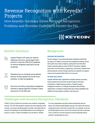 Revenue Recognition with KeyedIn Screenshot